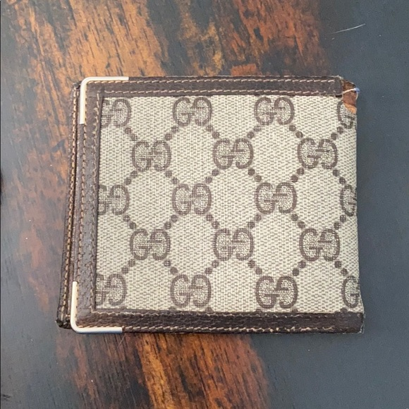 Gucci Other - Vintage 1980's gucci men's wallet